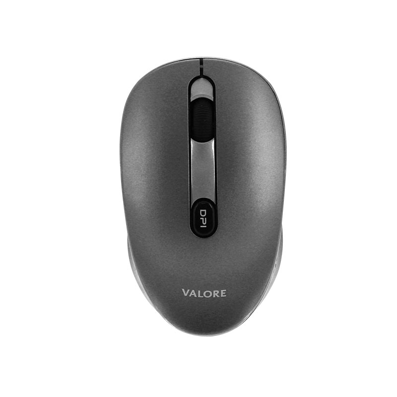Valore-Silent-Wireless-Mouse-With-USB-C-Receiver-(AC87)-Dark-Grey