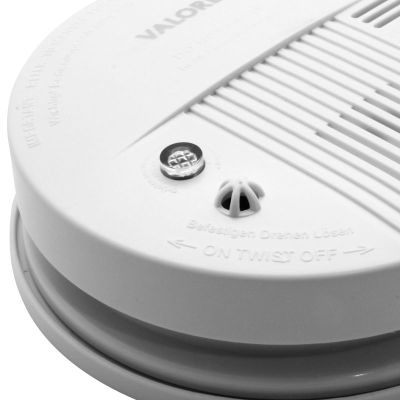 Valore-Stand-Alone-Smoke-Detector-(LA18)-Test-button