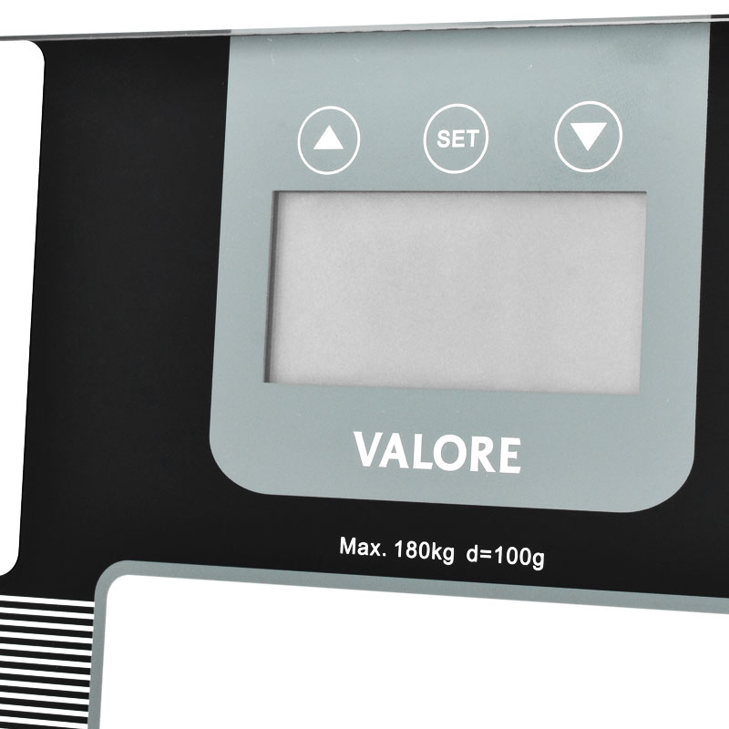 Valore-Tempered-Glass-Body-Composition-Monitor-(VF-005)-Control-buttons