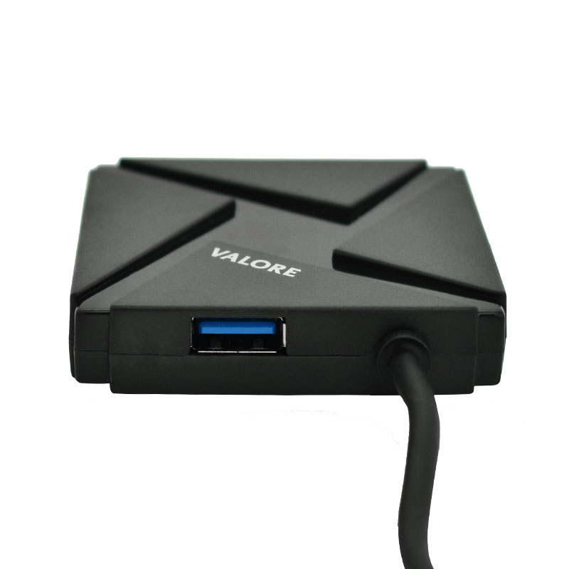Valore-USB-C-4-Port-USB-3.0-Hub(VUH-13)-back