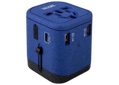 Valore Universal Travel Adaptor With 3 USB + 1 Type-C Output (AC81)