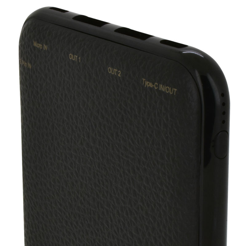 Valore-Versatile---8000mAh-Power-Bank-(PB22)-Black-battery-indicator