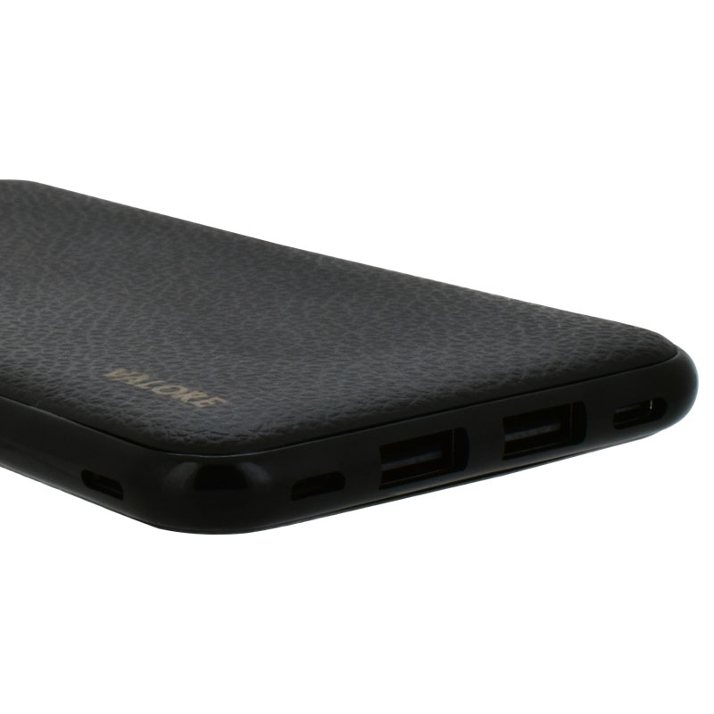 Valore-Versatile---8000mAh-Power-Bank-(PB22)-Black-ports