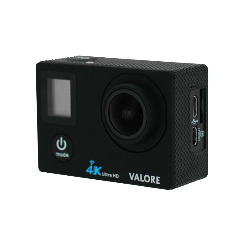 Valore-Vital---4K-WiFi-Action-Camera-(VMS57)-Black-without-case