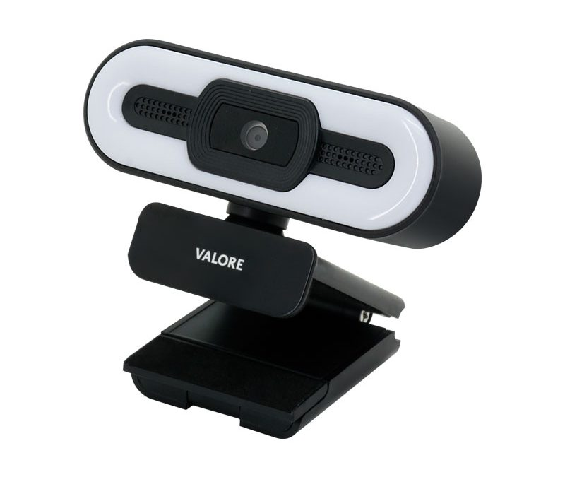 Valore Webcam With Ring Light (VMS64)