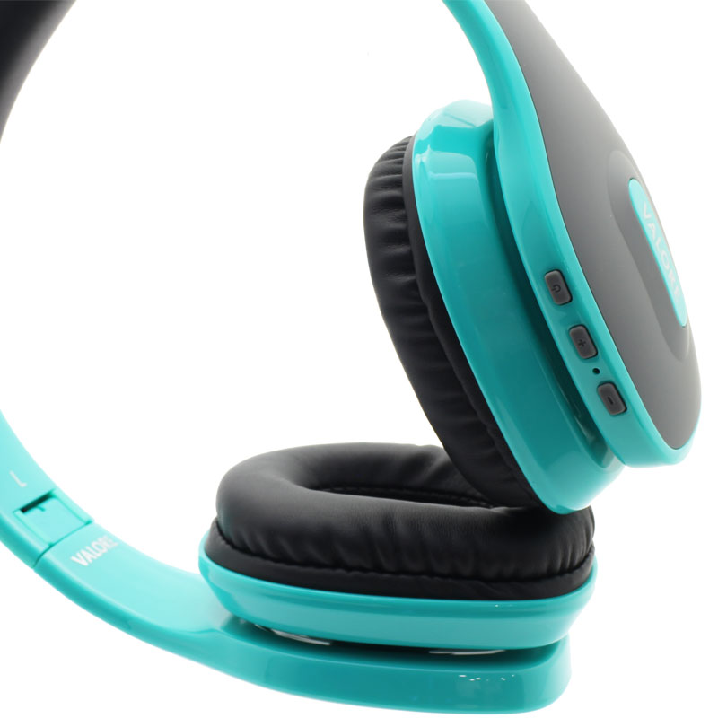 Valore-Wireless-Headset(HS0012)-Turqoise-Controls