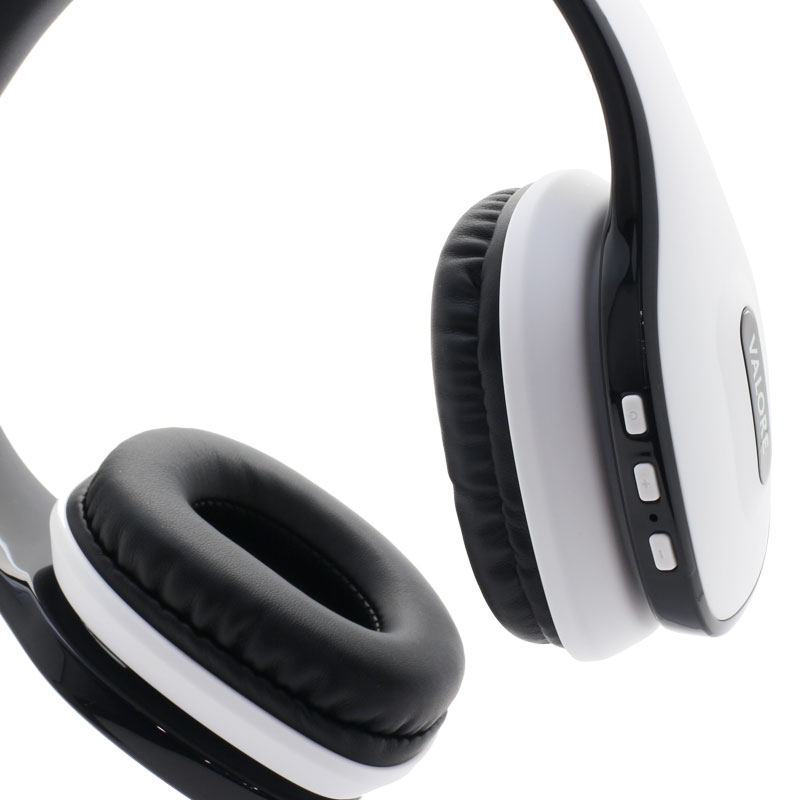 Valore-Wireless-Headset(HS0012)-White-Controls