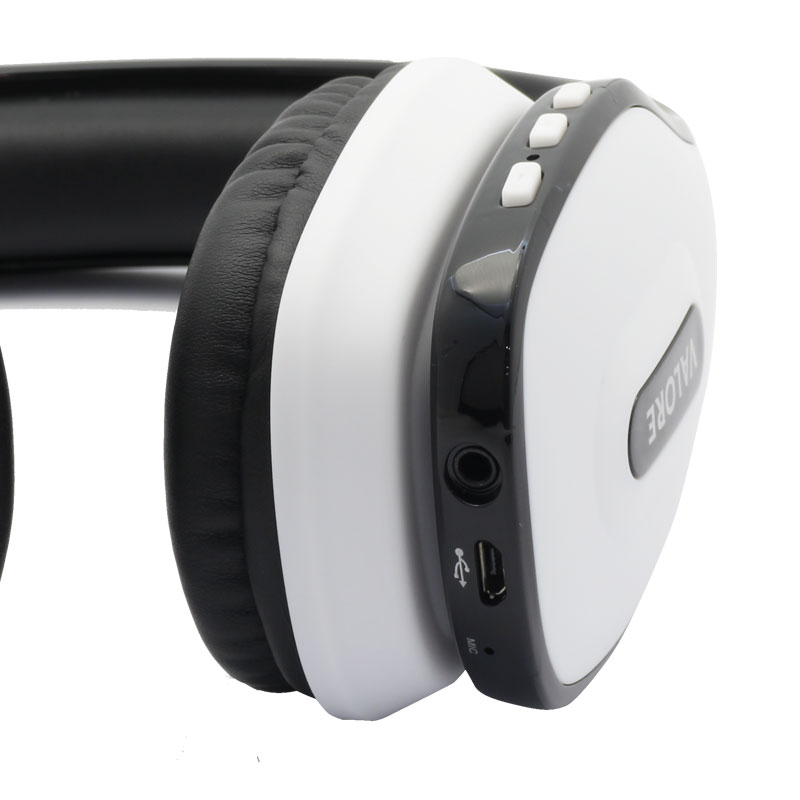 Valore-Wireless-Headset(HS0012)-White-aux-port