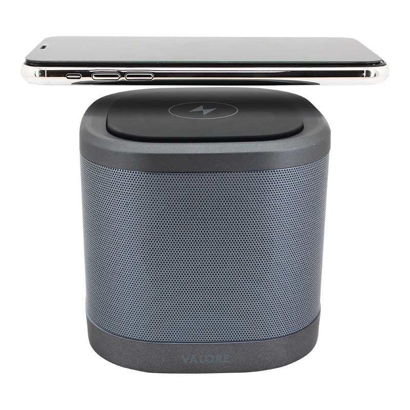 Valore-Wireless-Speaker-With-Wireless-Charging-Pad-(BTS27)-Wireless-Charging