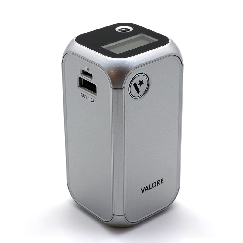 Valore-vPower-12000-mAh-Power-Bank-(VL-PB109)-Silver