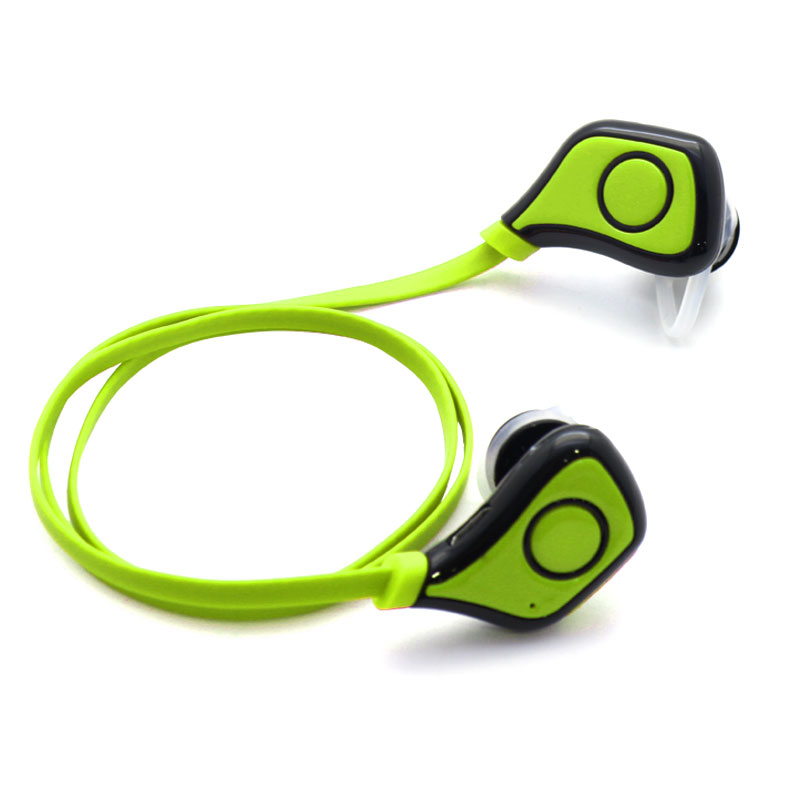 Wireless-Sports-Headset-Green-Cable-(QKE7)