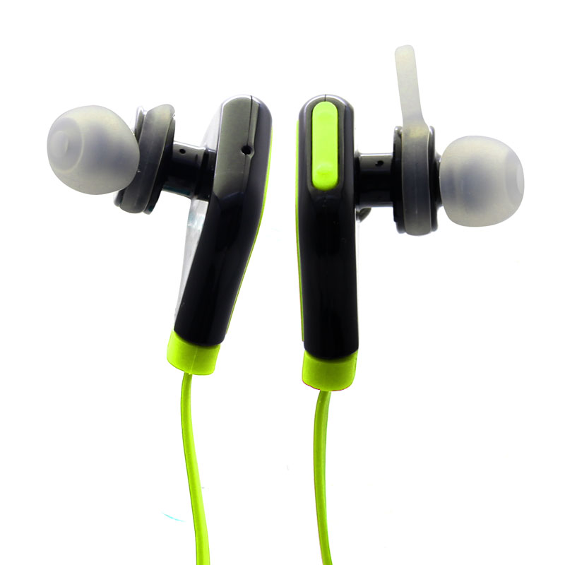 Wireless-Sports-Headset-Green-Mic-and-volume-button-(QKE7)