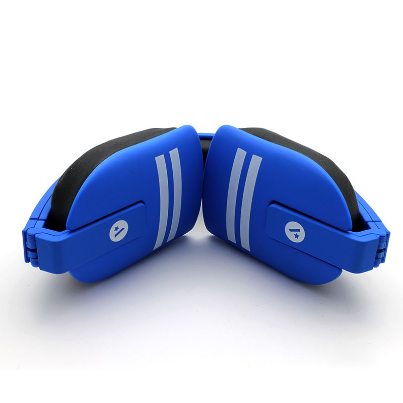 Y8-Wireless-Headset-Blue-Folded-inner-View