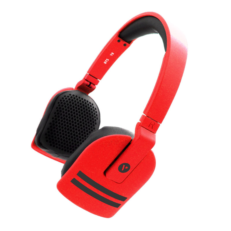 Y8-Wireless-Headset-Red